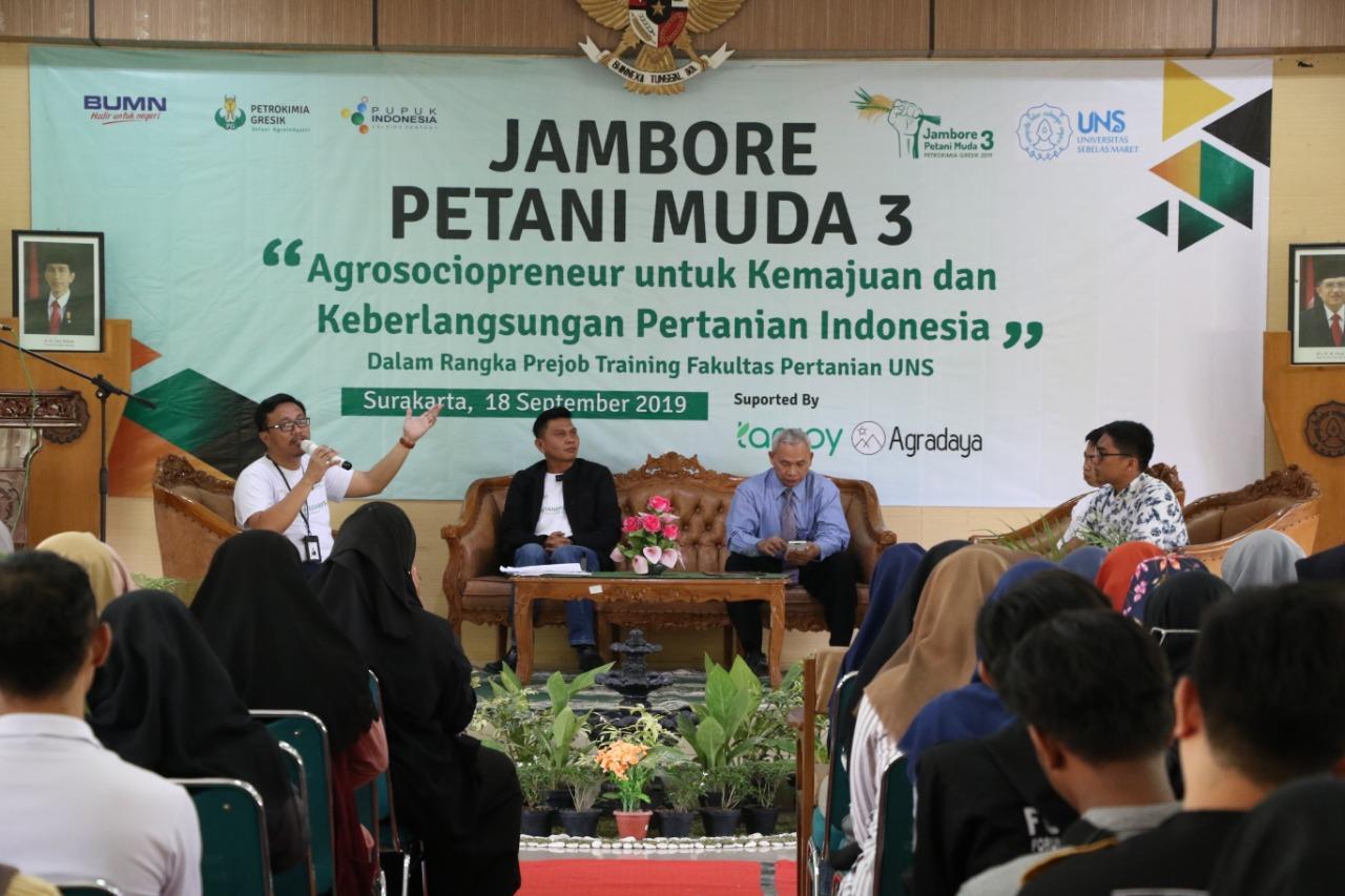 Dukung Pertumbuhan Agrosociopreneur, PT Petrokimia Gresik Sambangi FP UNS