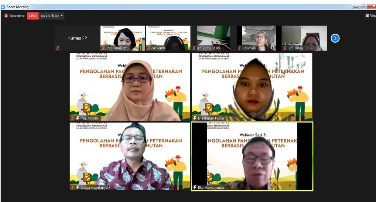 Faculty of Agriculture UNS Discusses Village Community Empowerment with Forest Utilization